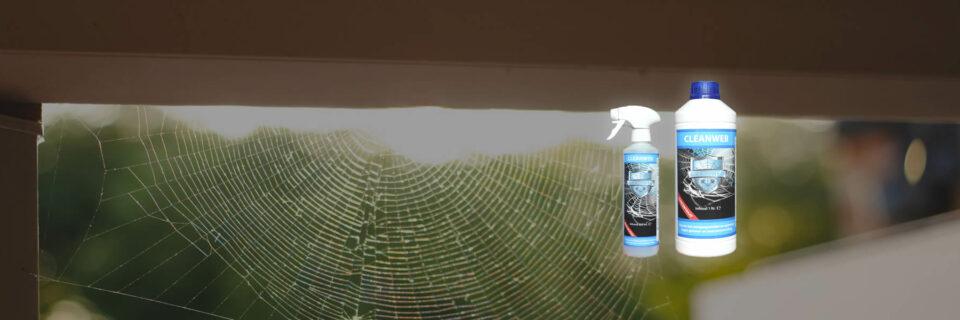 Met CLEANWEB gegarandeerd tot 6 maanden spinnen- en insectenvervuiling vrij